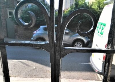 Repair of Entrance Gate, Chelsea Pre-Prep, London SW10 1