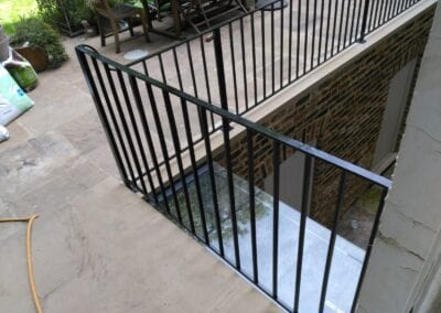 Restoration and Relocation of Balustrade, Islington, London N1 4