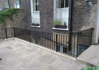 Restoration and Relocation of Balustrade, Islington, London N1 2