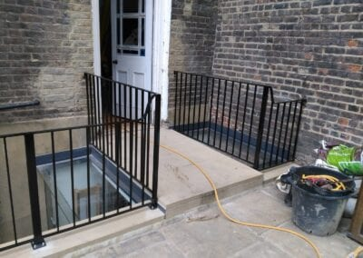 Restoration and Relocation of Balustrade, Islington, London N1 3