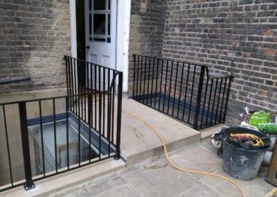 Restoration and Relocation of Balustrade, Islington, London N1 3