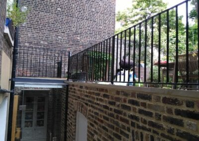 Restoration and Relocation of Balustrade, Islington, London N1 5