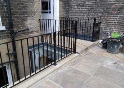 Restoration and Relocation of Balustrade, Islington, London N1
