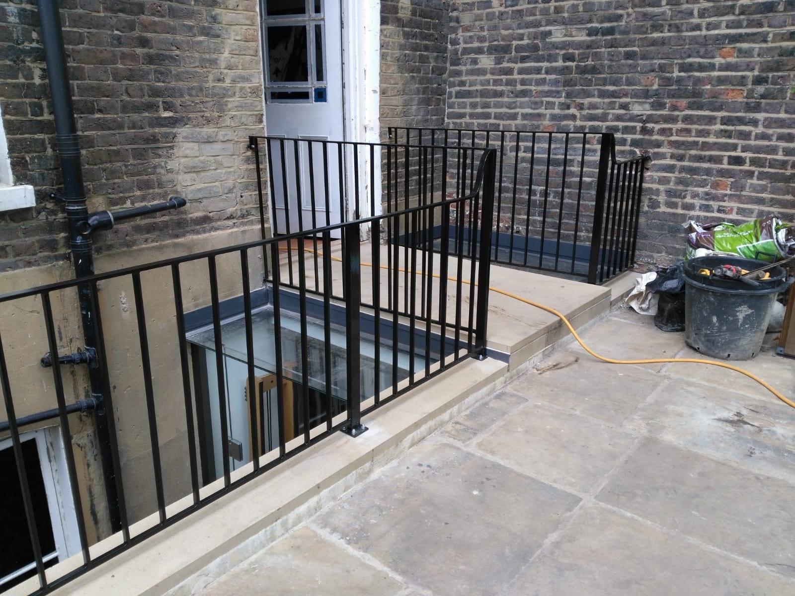 Restoration and Relocation of Balustrade, Islington, London N1 1