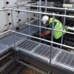 Walkways, Platforms and Cat Ladders, Homerton Hospital, London E9 5