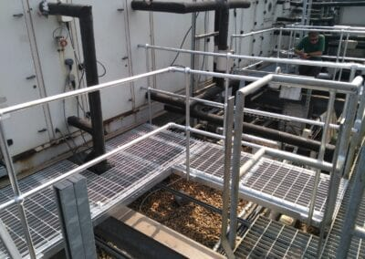 Walkways, Platforms and Cat Ladders, Homerton Hospital, London E9 3