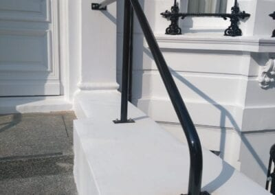 New Handrail for K+K Hotel George, Kensington, London SW5 2