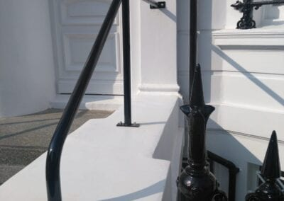 New Handrail for K+K Hotel George, Kensington, London SW5 3