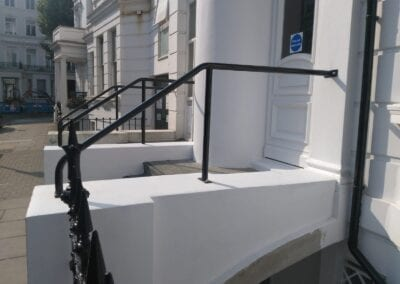 New Handrail for K+K Hotel George, Kensington, London SW5 1