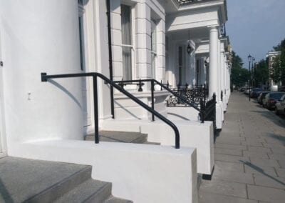 New Handrail for K+K Hotel George, Kensington, London SW5 4