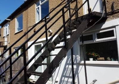 New Staircase Handrails and Landing, Woodford Green, Essex IG8