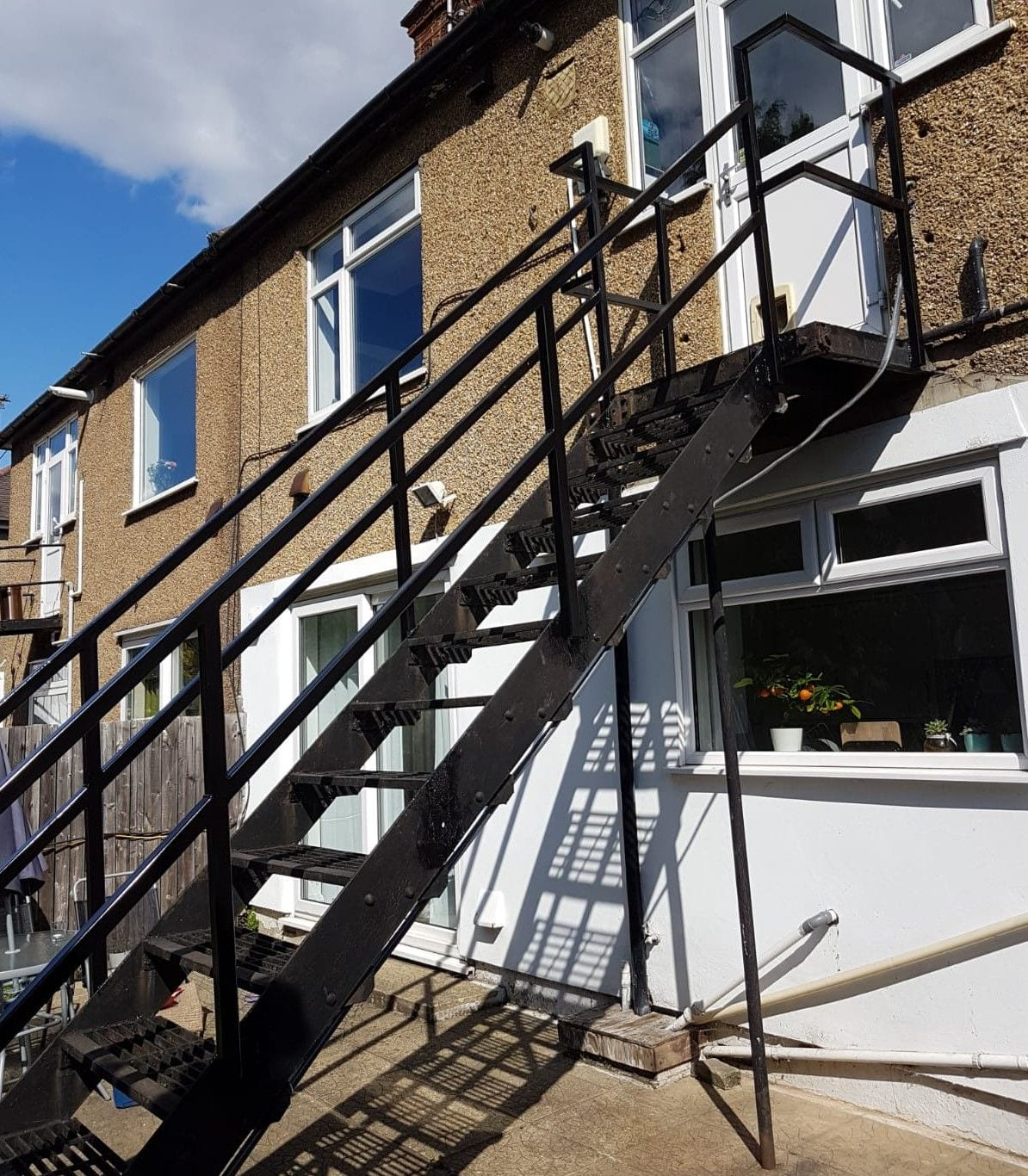 New Staircase Handrails and Landing, Woodford Green, Essex IG8 1