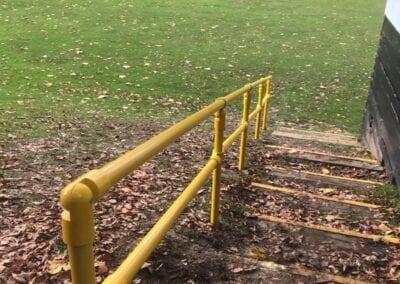 New Handrail for School Sports Field, Buckhurst Hill, Essex 2