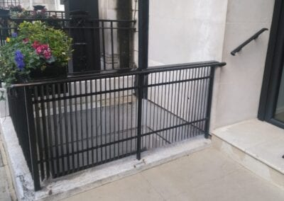 New Railing Cappings and Grab Rails, London W1