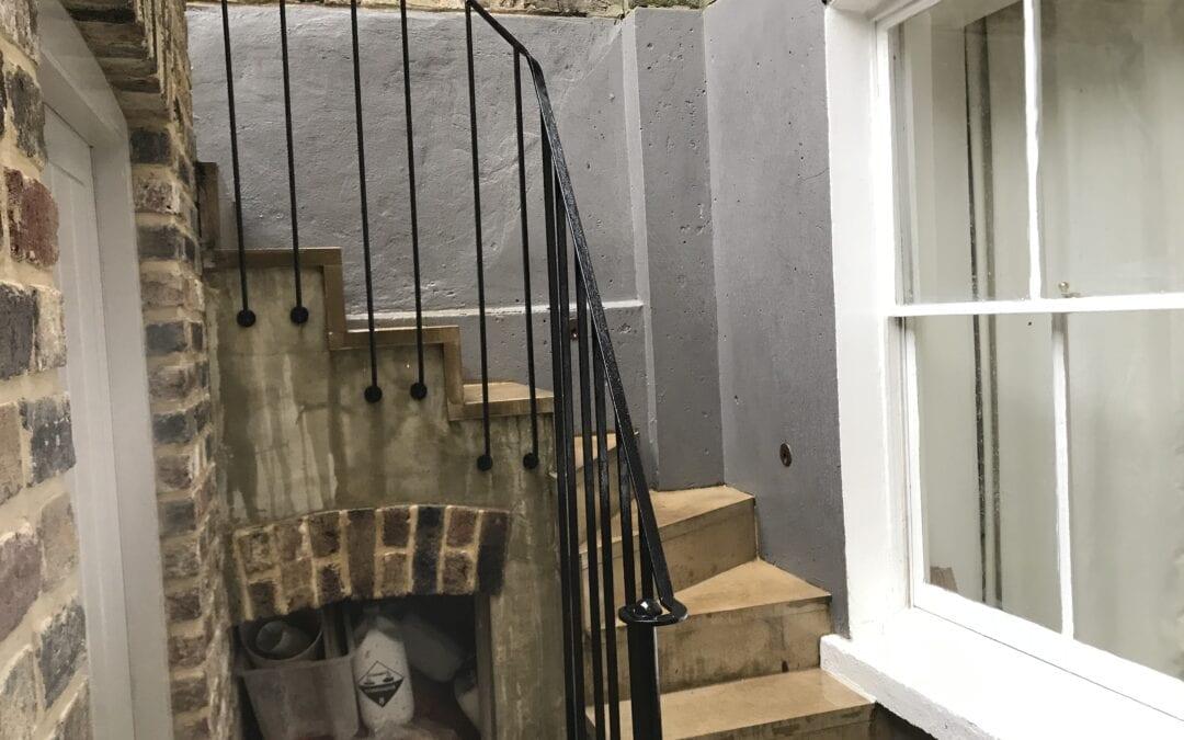 New Staircase Handrail, Islington, London N1