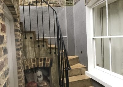 New Staircase Handrail, Islington, London N1 1