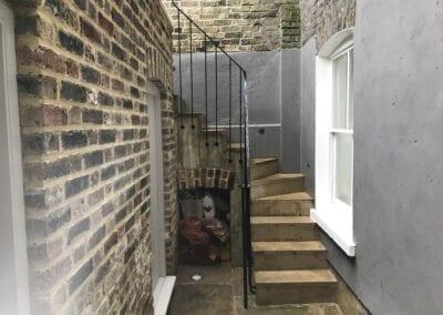 New Staircase Handrail, Islington, London N1 3