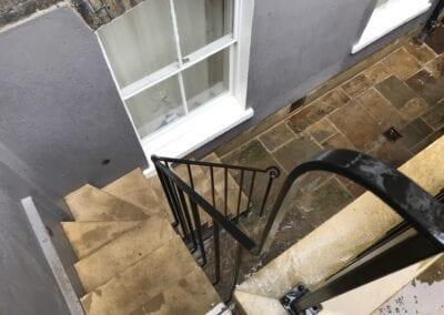 New Staircase Handrail, Islington, London N1 5