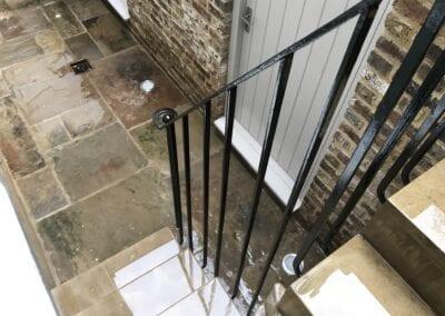 New Staircase Handrail, Islington, London N1 6