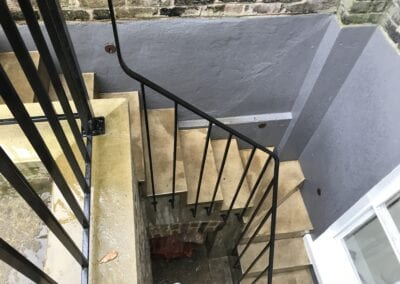 New Staircase Handrail, Islington, London N1 7