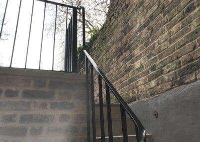 New Staircase Handrail, Islington, London N1 8