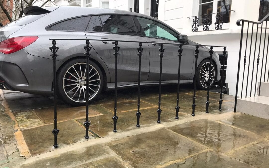 New Metal Railings, Kensington, London W8
