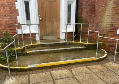 Stainless Steel Handrails for The Holly Private Hospital, Buckhurst Hill, Essex 2
