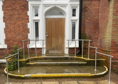 Stainless Steel Handrails for The Holly Private Hospital, Buckhurst Hill, Essex