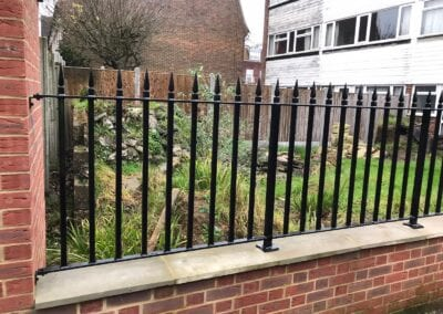 New Metal Railings, Loughton, Essex 2