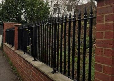 New Metal Railings, Loughton, Essex