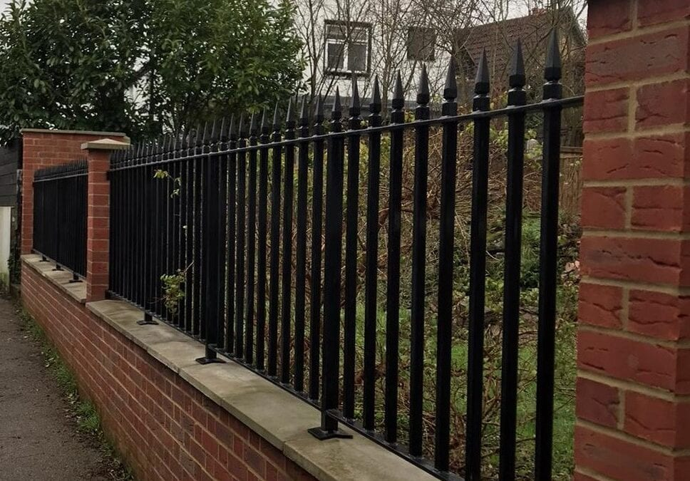 New Metal Railings, Loughton, Essex