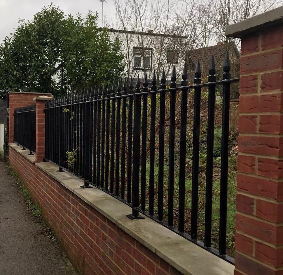 New Metal Railings, Loughton, Essex 1