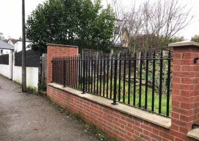 New Metal Railings, Loughton, Essex 3