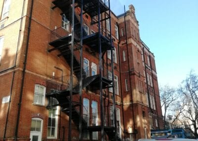Inspection of 3 Fire Escapes, Royal Brompton Hospital, London SW3