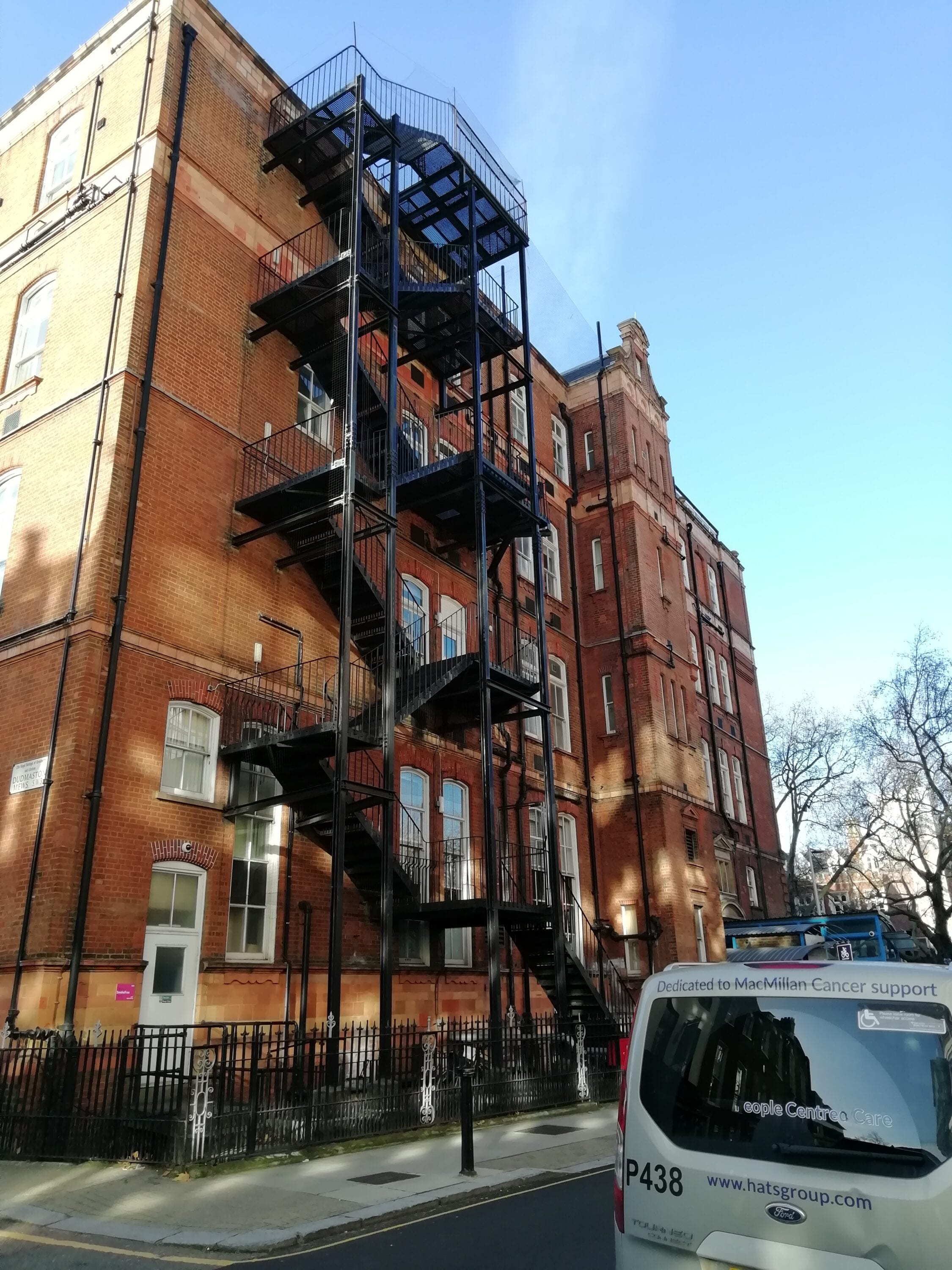 Inspection of 3 Fire Escapes, Royal Brompton Hospital, London SW3 1