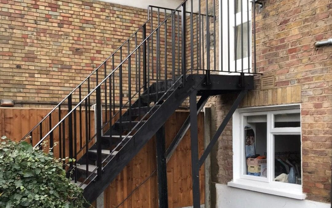 Replacement of Handrails and Landing Balustrade, Crouch End, London N8