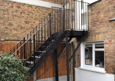 Replacement of Handrails and Landing Balustrade, Crouch End, London N8 1