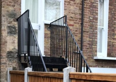 Replacement of Handrails and Landing Balustrade, Crouch End, London N8 2