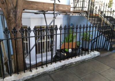Railing Repairs, Fulham, London SW6