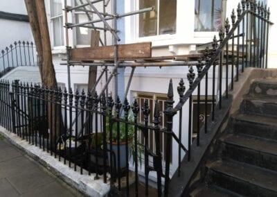 Railing Repairs, Fulham, London SW6 2