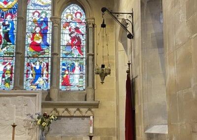 Brass Chandelier for Victorian Church in Kent 3