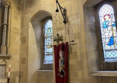 Brass Chandelier for Victorian Church in Kent 2