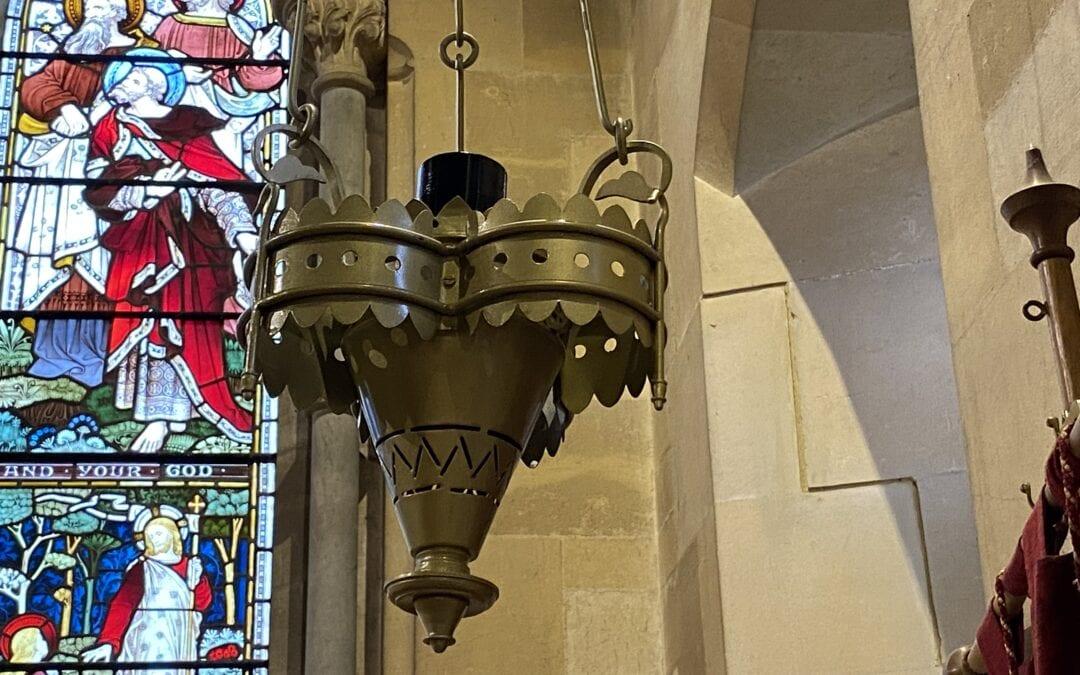Brass Chandelier for Victorian Church in Kent