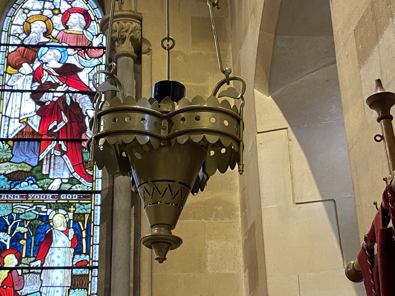 Brass Chandelier for Victorian Church in Kent 1
