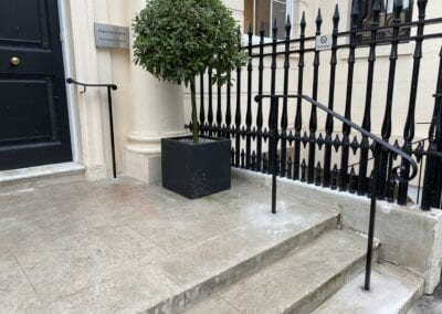 New Entrance Handrails for The Royal Academy of Engineering, London SW1 4