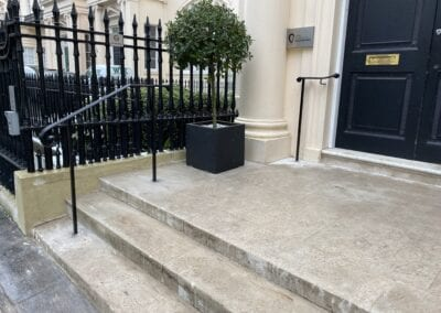 New Entrance Handrails for The Royal Academy of Engineering, London SW1 3