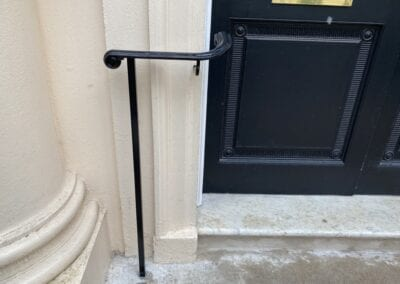 New Entrance Handrails for The Royal Academy of Engineering, London SW1 5