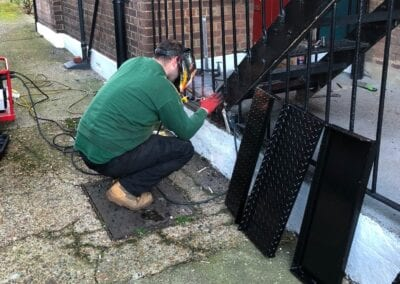 REPLACEMENT OF STAIR TREADS, LEYTONSTONE, LONDON E11