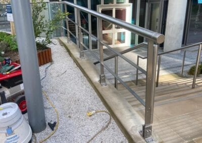New Stainless Steel Railings, Paddington, London W2 4