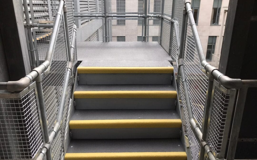 New Infill Panels For Handrails, The Royal London Hospital, London E1